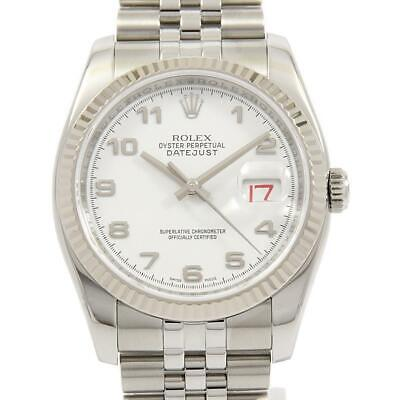 $ CDN7499.73 • Buy Authentic ROLEX 116234 Datejust SSxWG Automatic  #260-003-637-8531