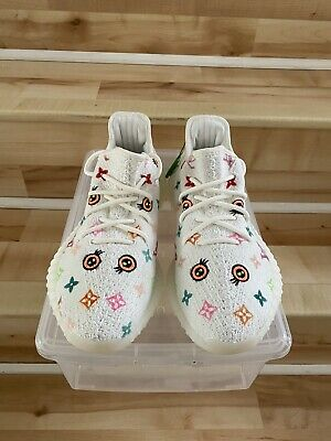 $ CDN725.01 • Buy DS New In Box Kickasso X Adidas Yeezy Boost 350 V2 Triple White Size 9.5 CP9366