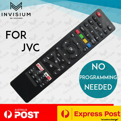 AU22.50 • Buy RM-C3227 RMC3227 REPLACEMENT JVC LCD TV Remote Control LT40N5105A LT-40N5105A