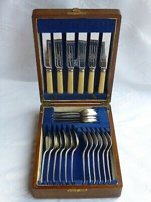 Vintage ~ Viners ~ Canteen Of Cutlery ~ Sheffield Epns A • 45£