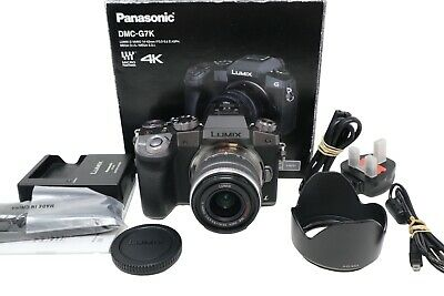 View Details Panasonic G7 Mirrorless Camera 16.0MP Body Only, Shutter Count 134, Mint Cond. • 299.00£