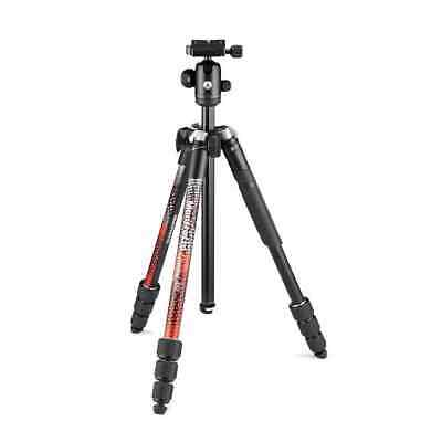 AU184.95 • Buy Manfrotto Element MII Aluminium Tripod With Ball Head (Red)