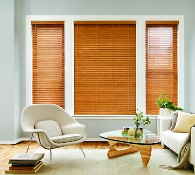 $ CDN65.91 • Buy MyBlinds 2 In Faux Wood Blinds Pure White 57.5 W X 63.5 L Inches