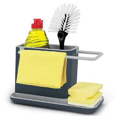 AU45 • Buy Joseph Joseph Sink Tidy Caddy Kitchen Brush/Sponge/Soap Holder/Rack/Organiser GY