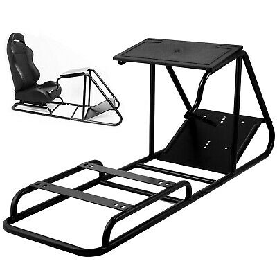 Racing Simulator Cockpit Steering Wheel Stand For PS3 PS4 Black Gear Shifter • 84.47£