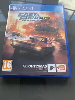 Ps4 Fast And Furious Crossroads Game • 40£
