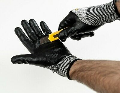 £4.29 • Buy X-nitcut5 Resistant Level 5 Work Safety Gloves Builders Grip Protection High Qua