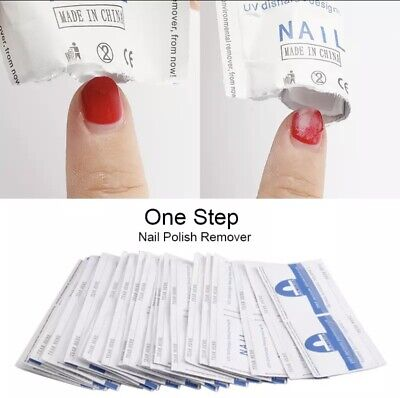 CANNI UV Gel  Cleanser Wipes Prep Wipe  Alcohol Gel Polish Nail Wrap No Residue • 4.15£