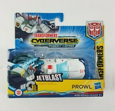 Transformers Cyberverse Action Attackers: 1-Step Changer Prowl Action Figure Toy • 10.72£