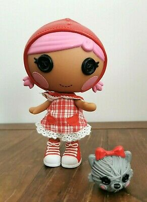 Lalaloopsy Littles Cape Riding Hood And Her Pet (Red Riding Hood) 7  Doll • 10£