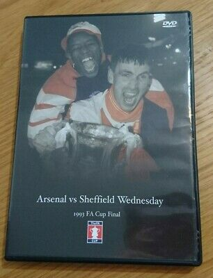 FA Cup Final Dvd 1993 - Arsenal Vs Sheffield Wednesday  • 16£