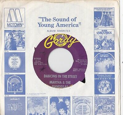 Martha Reeves And The Vandellas Dancing In The Street On Gordy Records • 9.99£
