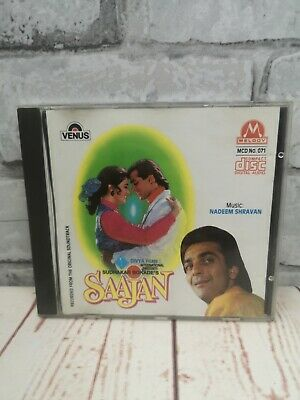 SAAJAN - Nadeem Shravan - Bollywood CD * Hindi * Indian* Melody [Made In UK] • 22.95£