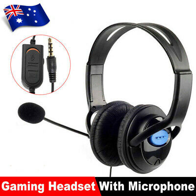 AU15.76 • Buy Headphones Wired With Mic Headset Gaming Earphone For Computer PC 3.5mm Jack KO