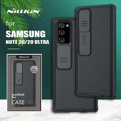 AU16.99 • Buy For Samsung Galaxy Note20 | 20 Ultra 5G NILLKIN CamShield Noble Hard Back Case