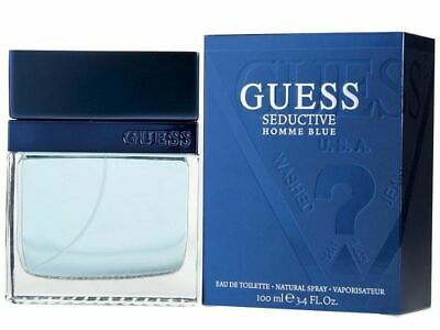 GUESS GUESS SEDUCTIVE HOMME BLUE 100ml EDT - MEN'S SPRAY NEW SEALED  • 19.99£