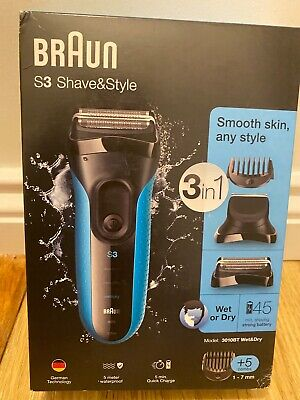 View Details Braun 3010BT Series 3 Shave & Style Shaver Wet & Dry Electric Razor Trimmer • 62.50£