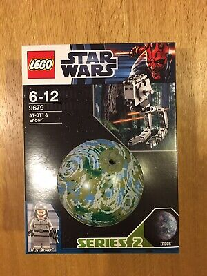 Retired LEGO STAR WARS 9679 AT-ST & Endor Planet  New/sealed, Free UK Delivery • 23£