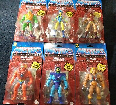 $148.45 • Buy Masters Of The Universe Origins Walmart Full Set Of 6! Mattel /New/ MOTU He-Man