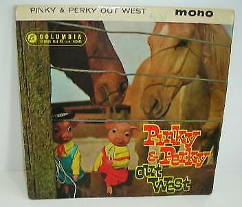 Old Pinky And Perky Out West 45 Rpm Record. • 9.99£