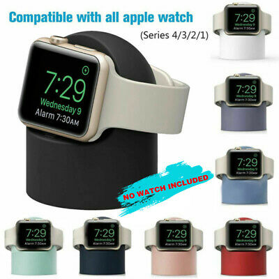 AU14.59 • Buy For Apple Watch IWatch 1/2/3 Charging Dock Station Wireless Charger Holder Stand