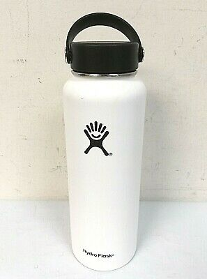 $27.99 • Buy Hydro Flask 40 Oz Wide Mouth With Flex Cap Insulated Water Bottle White - 0Q_58