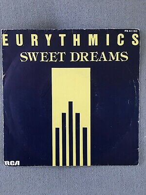Rare Eurythmics - Sweet Dreams 7  Single (french Import) • 4.99£