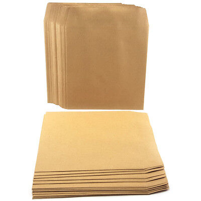 £2.89 • Buy Small Square Brown Envelopes School Dinner Money Petty Cash Wage