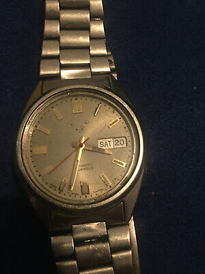 $ CDN18.15 • Buy SEIKO 7009 3041 Automatic Day Date Vintage For Part Or Repaire