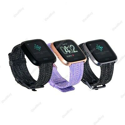 $ CDN95.70 • Buy Fitbit Versa FB505 Smart Watch Special Edition Fitness Tracker Refurbished