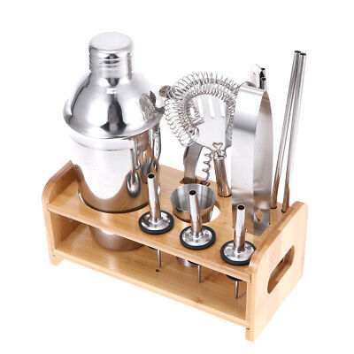 12pcs Cocktail Set Bartini Shaker Making Kit Gift Stainless Mixer Making Bar UK • 17.89£