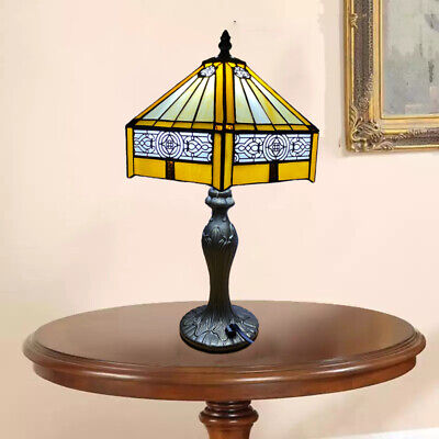 Tiffany Stunning Quality Style Hand Crafted Glass Table /Desk / Bedside Lamps UK • 50.49£