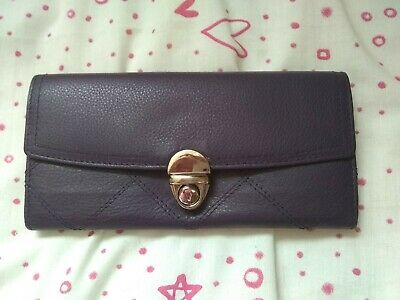 Jane Shilton Purple Purple Leather Matinee Style Purse ~ New No Tags • 9.99£