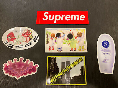 $ CDN22.55 • Buy Supreme Sticker Lot - Authentic