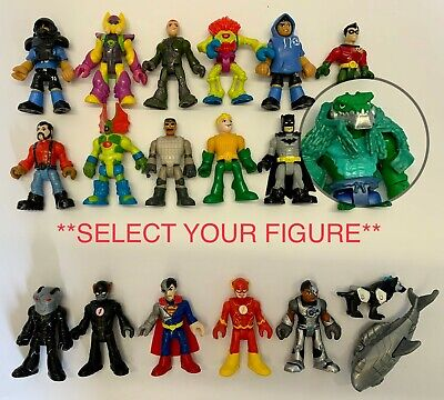 IMAGINEXT DC Super Friends Heroes & Villains *SELECT~YOUR~ FIGURE* Used Loose • 8.85£