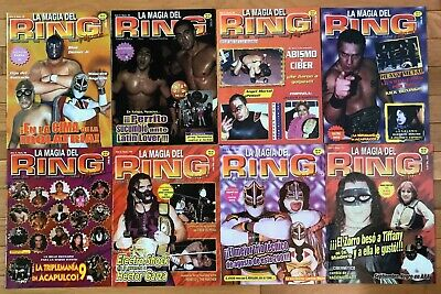 $9.99 • Buy Lucha Libre / Mexican Wrestling Magazine - 8 Issues Of LA MAGIA DEL RING - Lot 3