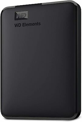 AU154.07 • Buy WD Western Digital Elements Portable External Hard Drive, USB 3.0  Black