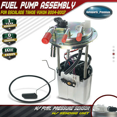 $53.99 • Buy Fuel Pump W/Pressure Sensor For Chevy Tahoe GMC Yukon 2004 2005 2006 2007 E3581M