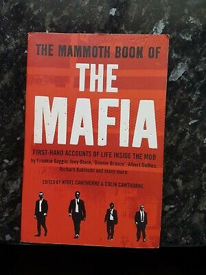 The Mammoth Book Of The Mafia, Nigel Cawthorne, Used; Good Condition (0107) • 1.99£