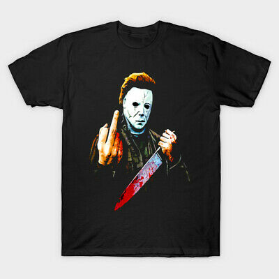 £6.96 • Buy Friday 13th Horror T Shirt Sci Fi Action Film Movie Halloween Michael Myers 4
