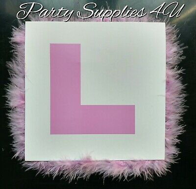 £2.99 • Buy Pink Hen Party L Plate Badge. Girls Night Out/Bride To Be/Hen Do/Bridesmaid