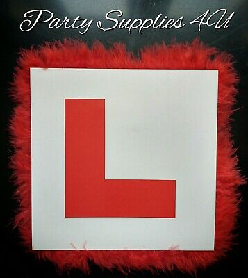 £2.99 • Buy Red Hen Party L Plate Badge. Girls Night Out/Bride To Be/Hen Do/Bridesmaid