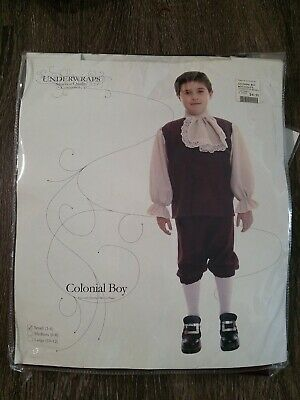$9.99 • Buy MM Child Colonial Boy Halloween Costume Size S