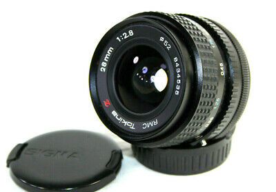 CANON FD Fit RMC Tokina 1:2.8 F=28mm Wide Angle Lens For A-1, AE-1, AV-1 T70  • 48.95£