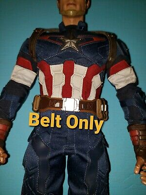 $ CDN46.70 • Buy Hot Toys MMS281 Captain America Age Of Ultron 1/6 Scale Brown Belt W/ Pouches