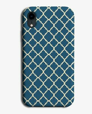 Dark Green Mosaic Pattern Phone Case Cover Moroccan Tile Tiles Print E892  • 9.99£