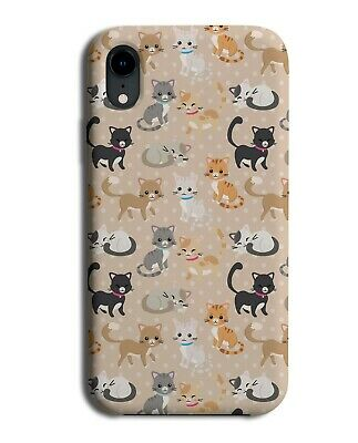 £9.99 • Buy Stylish Cat Design Phone Case Cover Colourful Kids Childrens Cats Kittens F013