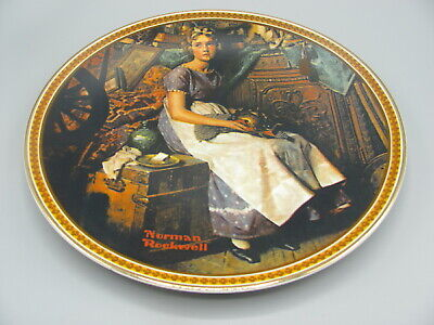 $ CDN6.58 • Buy Norman Rockwell Plate  Dreaming In The Attic  Rediscovered Women #18109D Ltd Ed