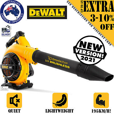 AU192.97 • Buy 54V Cordless Leaf Blower Li-ion Battery Variable Control Garden Commercial Tool