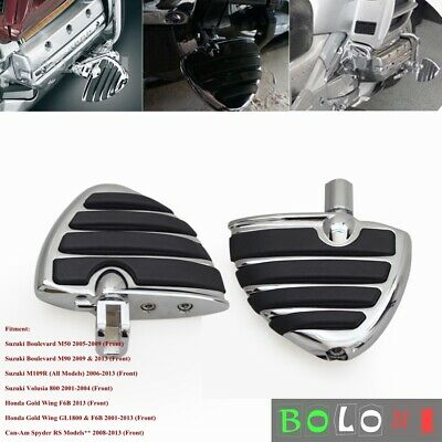 $47.75 • Buy Foot Pegs Footrests Kit For Suzuki Boulevard M109R M90 M50 2006-2013 Footboards